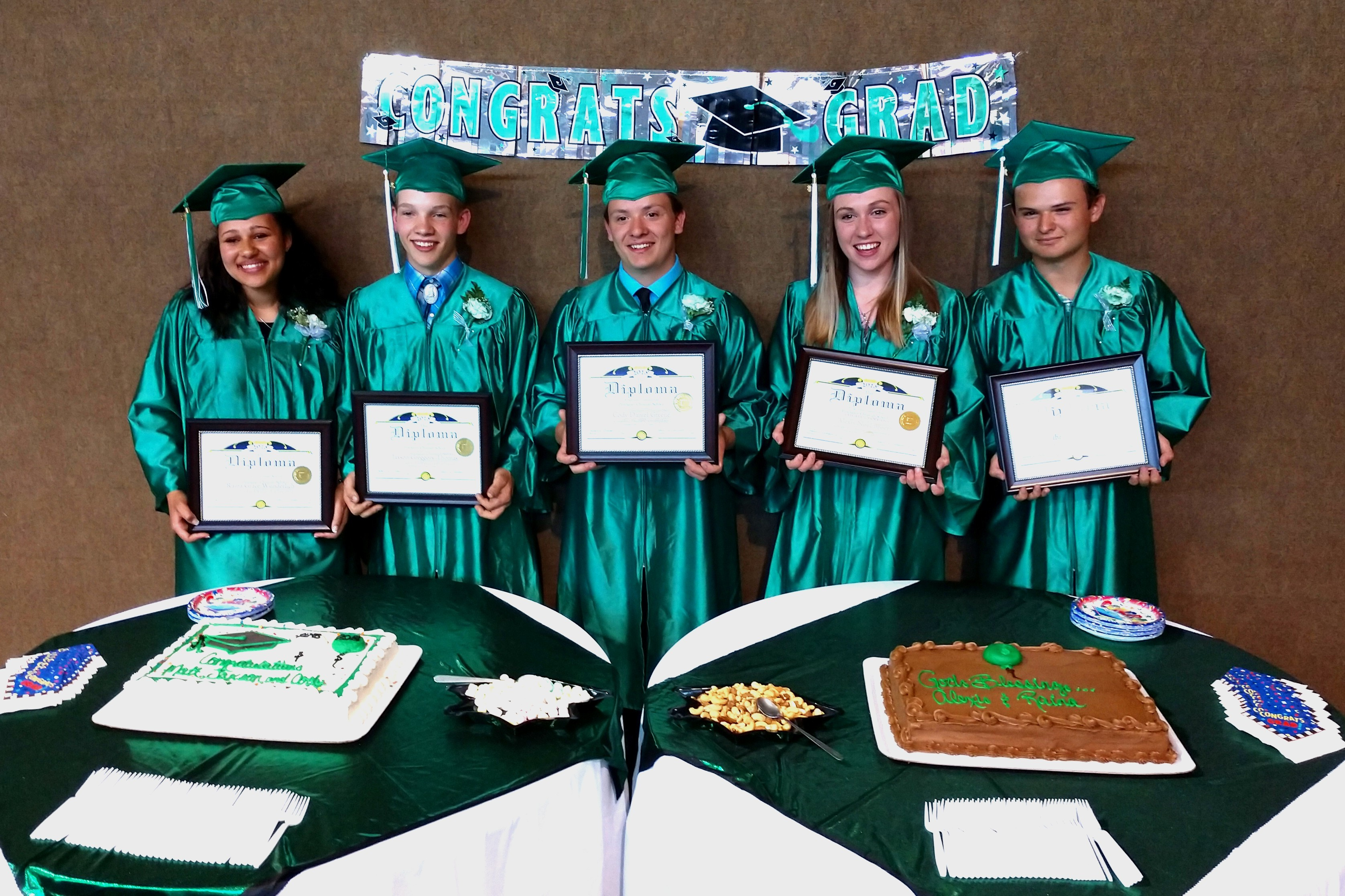 Pinehaven graduates