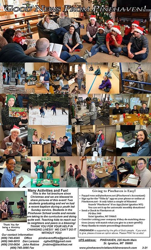 Pinehaven newsletter thumbnail March 2021